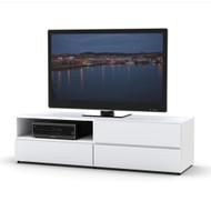 Nexera  TV Stand 60-inch, White - 223103
