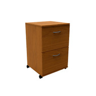 Nexera Essentials 2-Drawer Mobile File Cappuccino - 8093