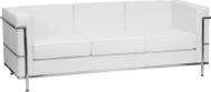 Flash Furniture Hercules Regal Series Contemporary White LeatherSoft Sofa - ZB-REGAL-810-3-SOFA-WH-GG