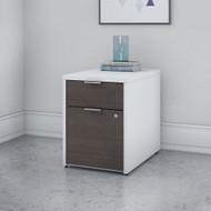 Bush Business Furniture Jamestown 2 Drawer Pedestal-Assembled- JTF116SGWHSU