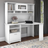 Bush Cabot Collection Corner Desk Package White - CAB008WHN