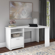 Bush Cabot Collection Corner Desk White - WC31915K