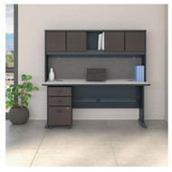 "Bush Business Furniture Series A Desk Package 72"" - SRA051SLSU"