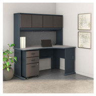"Bush Business Furniture Series A Right Corner Desk Package 60"" - SRA079SLSU"