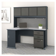 "Bush Business Furniture Series A Left Corner Desk Package 60"" - SRA076SLSU"