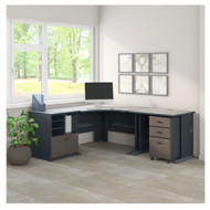 Bush Business Furniture Series A Corner Desk Package - SRA053SLSU