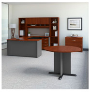"Bush Business Furniture Series C Executive U-Shaped Desk 60"" Package Right Hansen Cherry - SRC098HCSU"