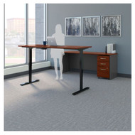 "Bush Business Furniture Series C Executive Height Adjustable Desk 72"" Package Hansen Cherry - SRC104HCSU"
