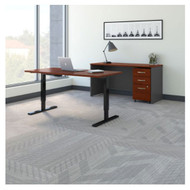 "Bush Business Furniture Series C Executive Height-Adjustable Desk 60"" Package - SRC106HCSU"