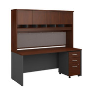 "Bush Business Furniture Series C Executive Desk 72"" x 30"" Package - SRC080HCSU"