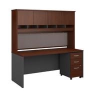 """Bush Business Furniture Series C Executive Desk 72"""" x 30"""" Package - SRC080HCSU"""