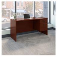 "Bush Business Furniture Series C Executive Desk Package 60"" x 24"" Mahogany - SRC072MASU"
