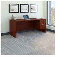 "Bush Business Furniture Series C Executive Desk Package 72"" x 30"" Mahogany - SRC069MASU"