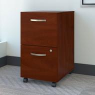 Bush Business Furniture 2 Drawer Mobile File Cabinet Hansen Cherry - FTR007HCSU