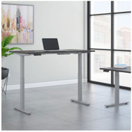 Bush Furniture Move 60 Series 60W x 30D Height Adjustable Table Standing Desk - M6S6030SGSK