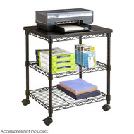 Safco Deskside Wire Machine Stand - 5207BL