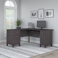 Bush Furniture Somerset 60W L Shaped Desk with Storage - WC81530K