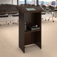 Bush Business Furniture 24W x 48H Lectern in Mocha Cherry - FTD124MR