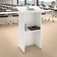 Bush Business Furniture 24W x 48H Lectern in White - FTD124WH
