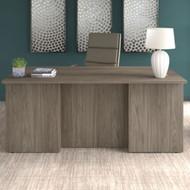 "Bush Business Furniture Office 500 Executive Desk 72"" x 36"" Modern Hickory - OFD172MHK"