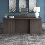 "Bush Business Furniture Office 500 Executive Desk 72"" x 36"" Storm Gray - OFD172SGK"
