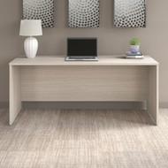 "Bush Business Furniture Office 500 Credenza Desk 72""W x 24""D Sand Oak - OFD272SO-Z"