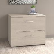 "Bush Office 500 36""W 2-Drawer Lateral File Cabinet Sand Oak - OFF136SOSU"