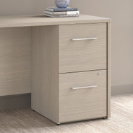 "Bush Office 500 16""W 2-Drawer Lateral File Cabinet Sand Oak - OFF216SOSU"