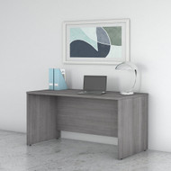 "Bush Business Furniture Studio C Credenza Desk 72"" Platinum Gray - SCD372PG"