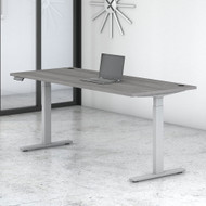 Move 60 Series by Bush Business Furniture 72W x 30D Height Adjustable Standing Desk - M6S7230PGSK