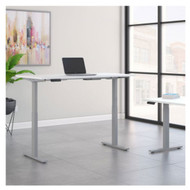 Move 60 Series by Bush Business Furniture 72W x 30D Height Adjustable Standing Desk - M6S7230WHSK