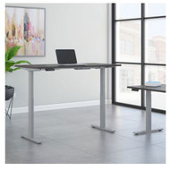 Move 60 Series by Bush Business Furniture 72W x 30D Height Adjustable Standing Desk - M6S7230SGSK