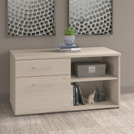 Bush Business Furniture Office 500 Low Wall Cabinet Sand Oak - OFS145SO