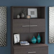 Bush Business Furniture Office 500 36W Bookcase Hutch Storm Gray - OFH136SG