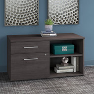 Bush Business Furniture Office 500 Low Wall Cabinet Storm Gray - OFS145SG