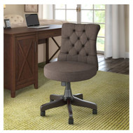 Bush Furniture Key West Mid-Back Tufted Office Chair Brown - KWS019BR