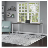 "Bush Business Furniture 400 Series Table Desk 60"" x 30"" Storm Gray - 400S144SG"