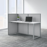 "Bush Business Furniture Easy Office 60""W Desk Workstation w 45""H Open Panels - EOD160WH-03K"