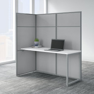 "Bush Business Furniture Easy Office 60""W Desk Workstation w 66""H Open Panels - EODH160WH-03K"