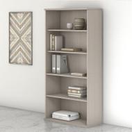 Bush Business Furniture Studio C 5-Shelf Bookcase Sand Oak - SCB136SO