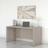 """Bush Business Furniture Studio C Credenza Desk 60"""" X 24"""" Sand Oak - SCD360SO"""