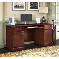 Kathy Ireland by Bush Furniture Bennington Collection Credenza Desk - WC65510-03K