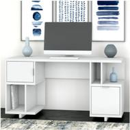 "Kathy Ireland by Bush Industries Madison Avenue 60""W Computer Desk - MDD260PW-03"