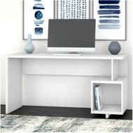 "Kathy Ireland by Bush Industries Madison Avenue 60""W Writing Desk - MDD160PW-03"