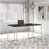 "Kathy Ireland by Bush Method Collection 60""W Table Desk Century Walnut - KI70501K"