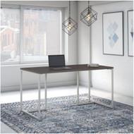 "Kathy Ireland by Bush Method Collection 60""W Table Desk Storm Gray - KI70401K"