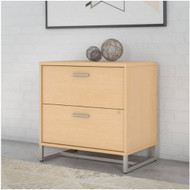 Kathy Ireland by Bush Method Collection 2-Drawer Lateral File Century Assembled Natural Maple - KI70304SU