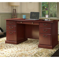 Kathy Ireland by Bush Furniture Bennington Collection Executive Desk - WC65566-03K