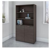 Bush Business Furniture Jamestown 5-Shelf Bookcase - JTB136SG