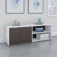 Bush Business Furniture Jamestown Low Storage Cabinet - JTS160SGWH